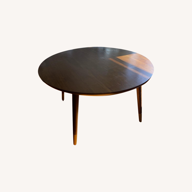 World Market Round Coffee Table - image-0