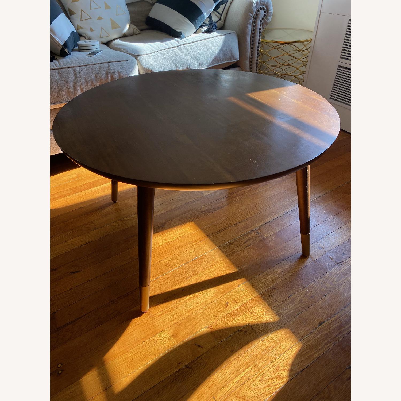 World Market Round Coffee Table - image-1