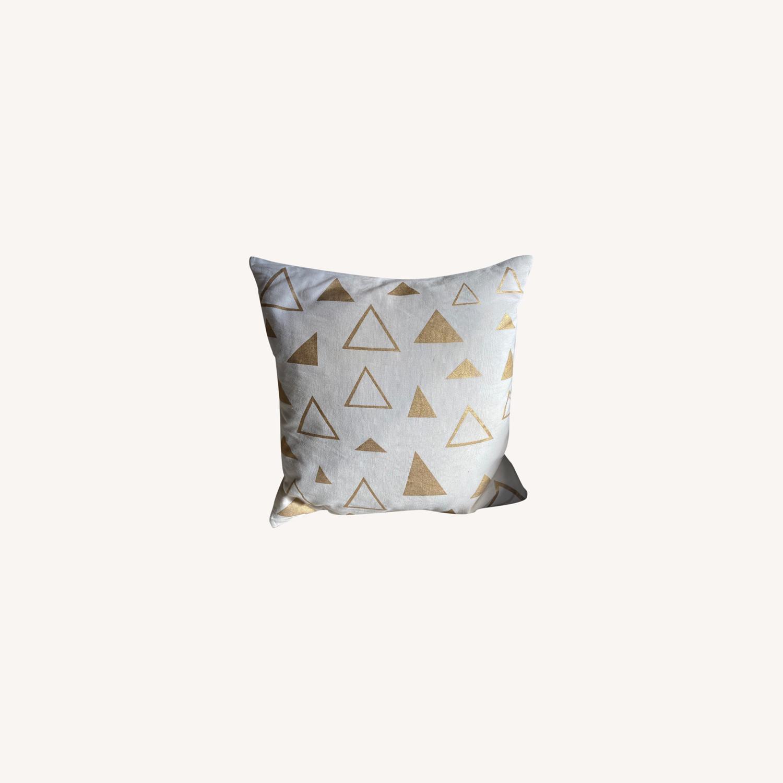CB2 16x16 Accent Pillow - image-0