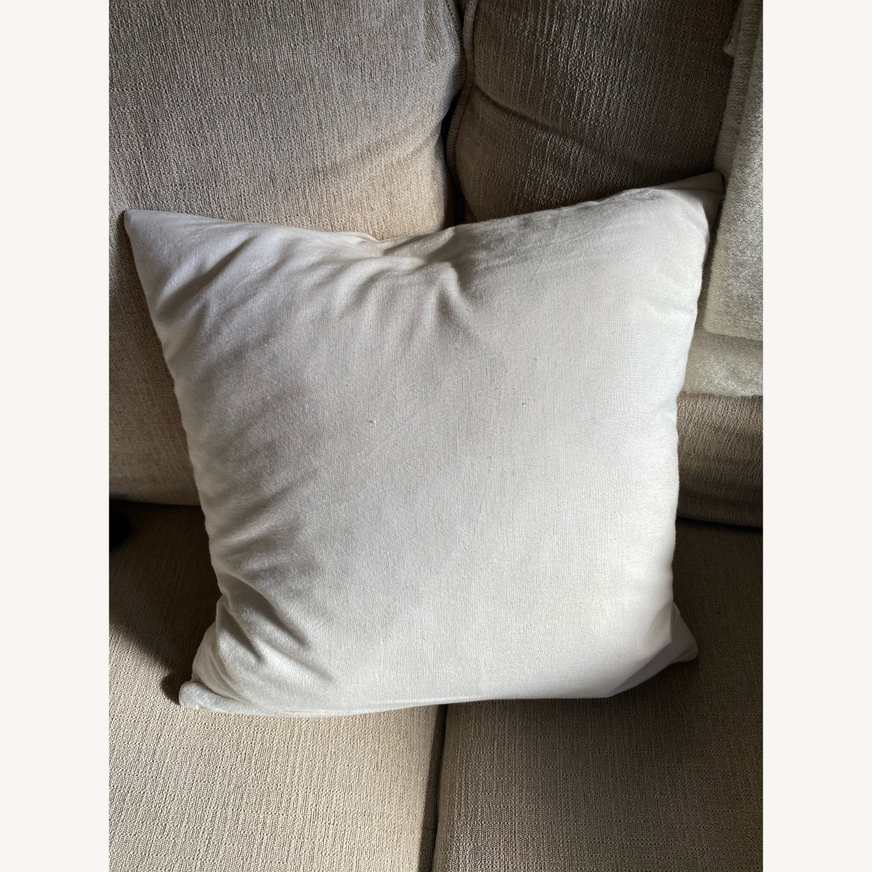 CB2 16x16 Accent Pillow - image-2