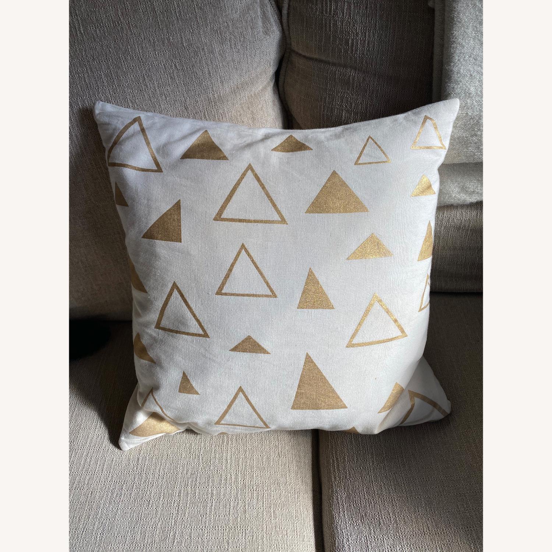 CB2 16x16 Accent Pillow - image-1