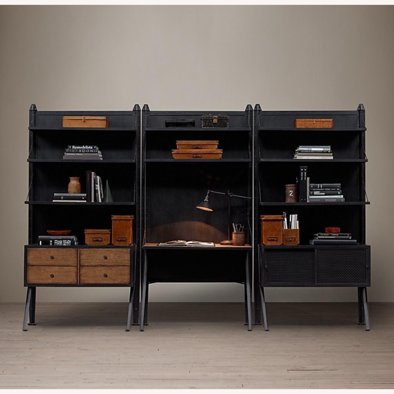 Restoration Hardware 1950's Modular Collection Bookshelf - image-4