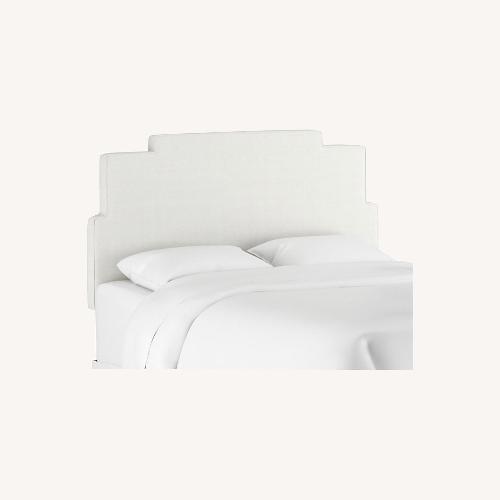 Used One Kings Lane Paxton Headboard, White for sale on AptDeco