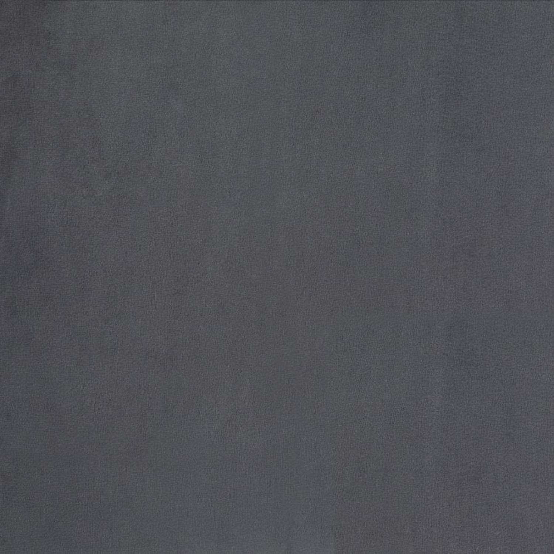 Counter Height Stool In Grey Velvet Upholstery - image-5