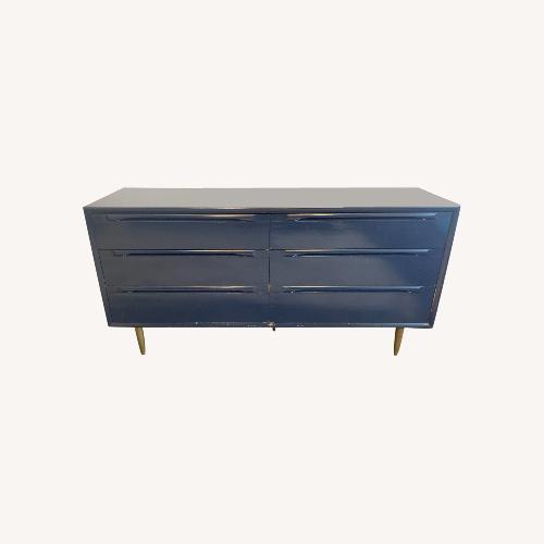 Used Blue Vintage Dresser for sale on AptDeco