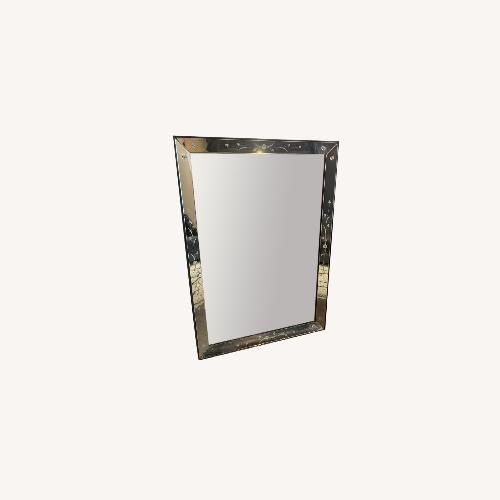 Used Vintage Mirror with knobs on side for sale on AptDeco