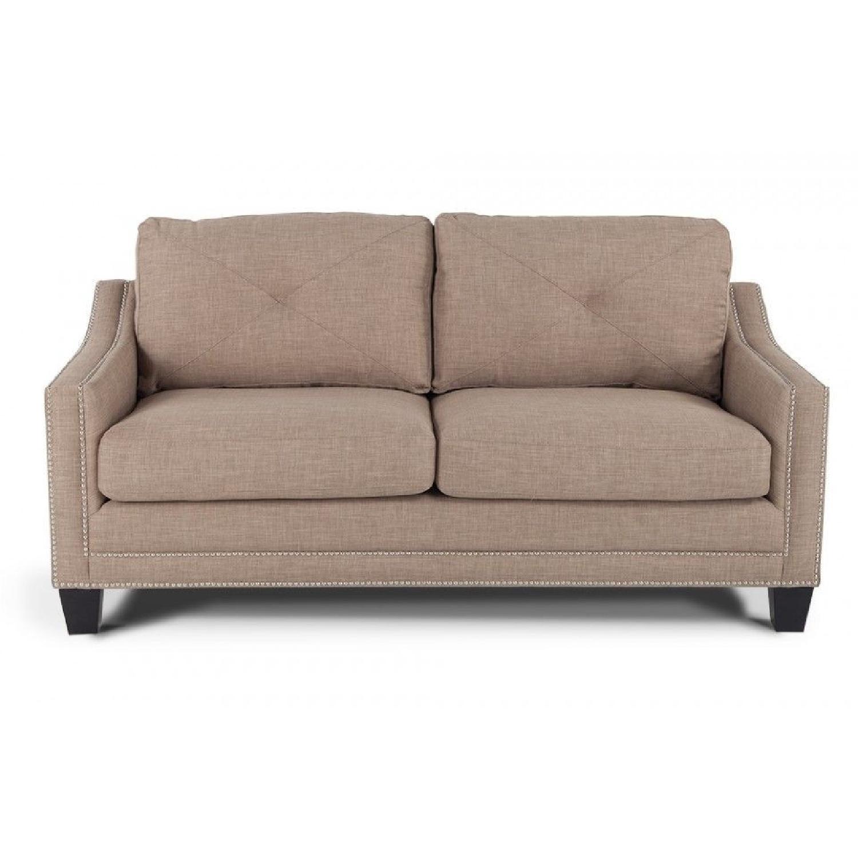 "Bob's Annie 73"" Sofa in Natural - image-5"