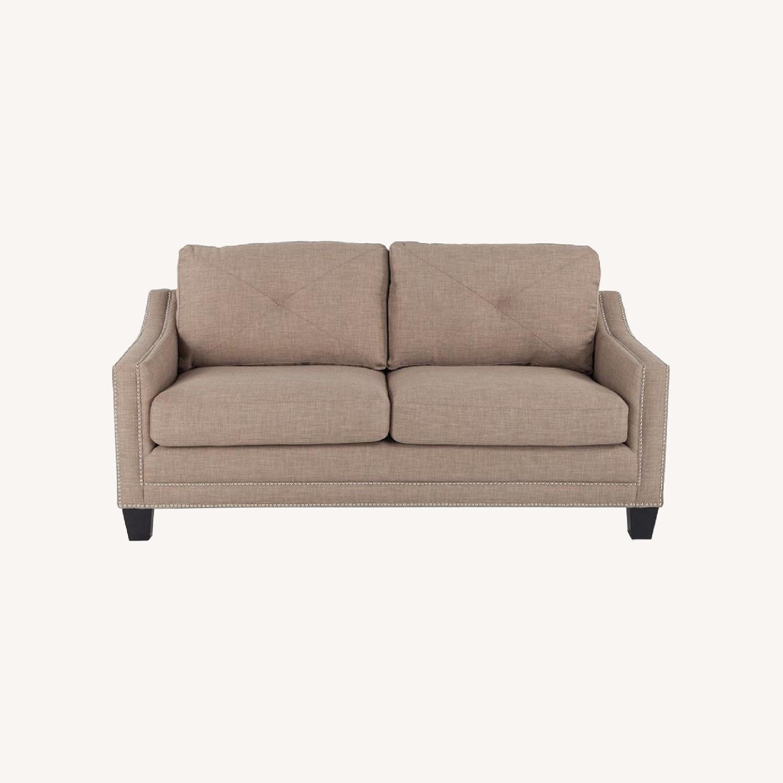 "Bob's Annie 73"" Sofa in Natural - image-0"