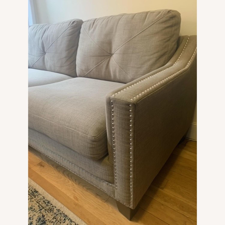 "Bob's Annie 73"" Sofa in Natural - image-2"