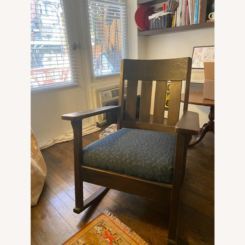 Used Antique Mission/Stickley Rocking Chair for sale on AptDeco