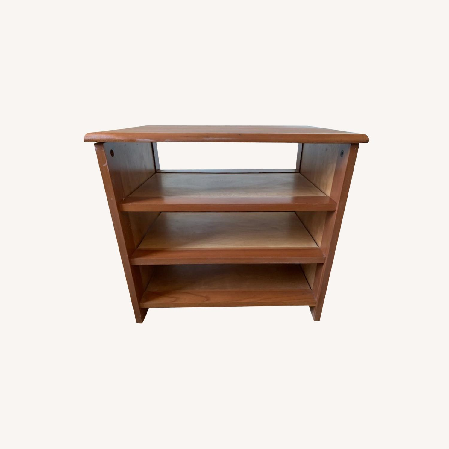 Mid Century Danish Modern Wooden Storage Unit - image-0