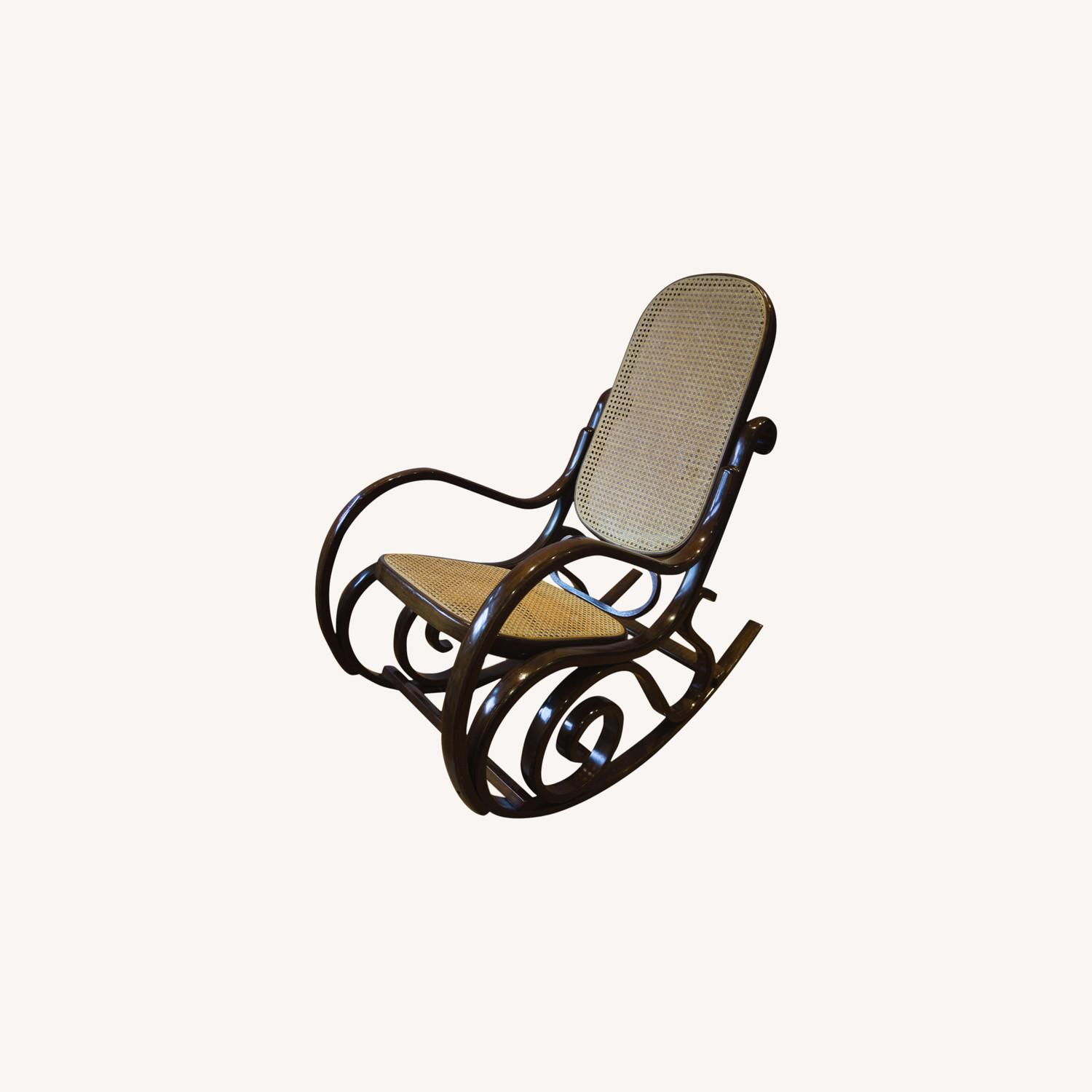 Bentwood Rocker in the Classic Style - image-0