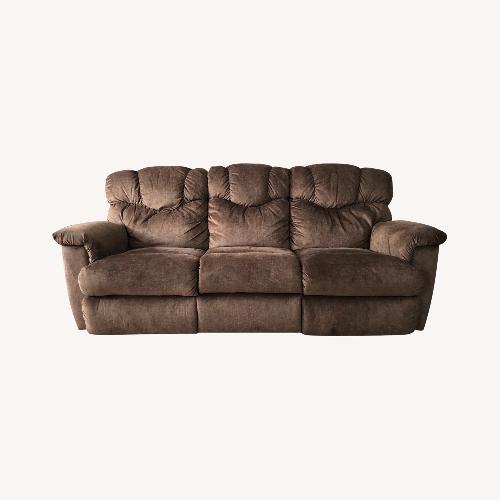 Used La-Z-Boy Brown Lancer Reclining Sofa for sale on AptDeco