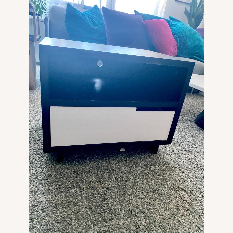 Blu Dot Black Mod-ulicious Bedside Table - image-1