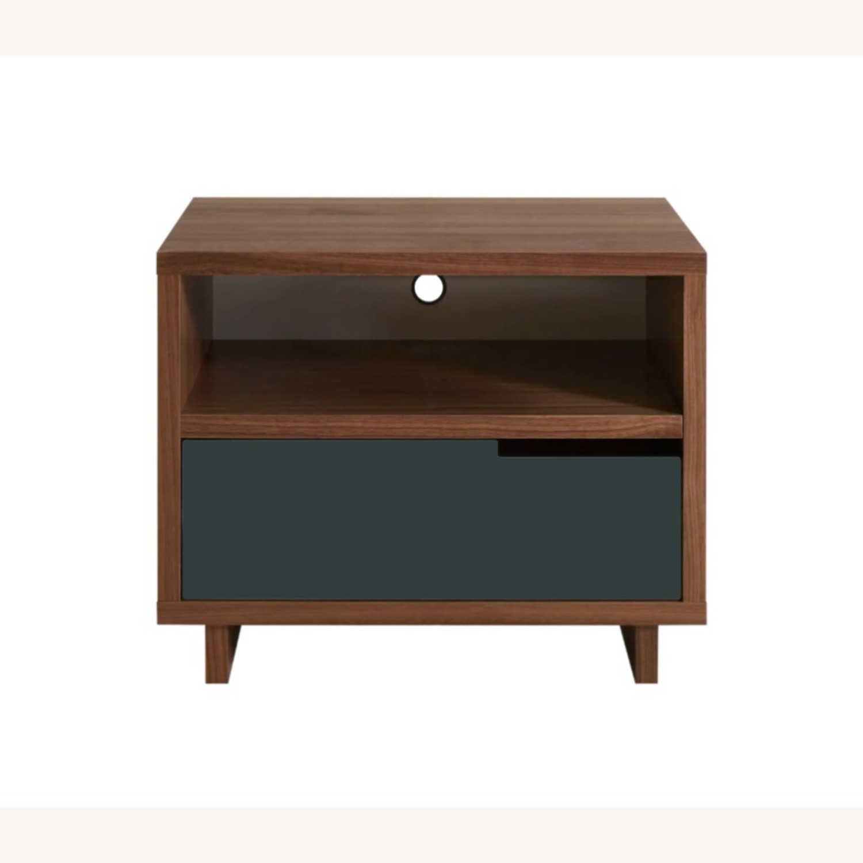 Blu Dot Black Mod-ulicious Bedside Table - image-0