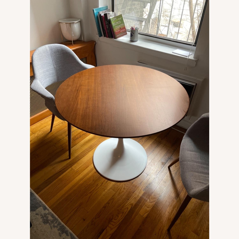 Modway Lippa Round Walnut Dining Table - image-3