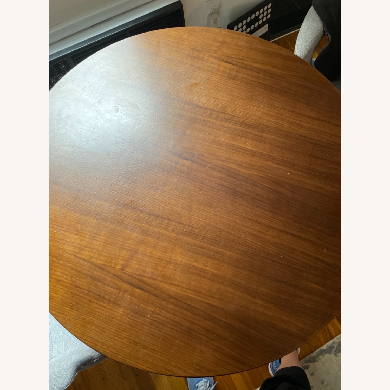 Modway Lippa Round Walnut Dining Table - image-4