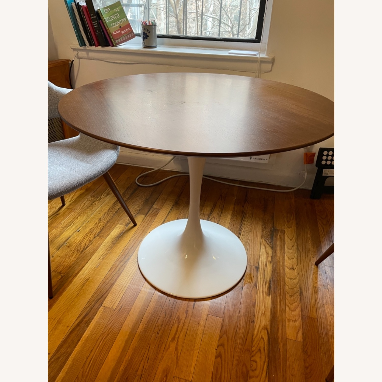 Modway Lippa Round Walnut Dining Table - image-1