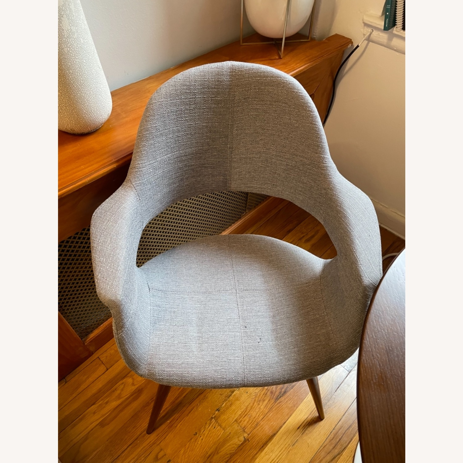 Grey Modern Dining Room Chair Set - image-2