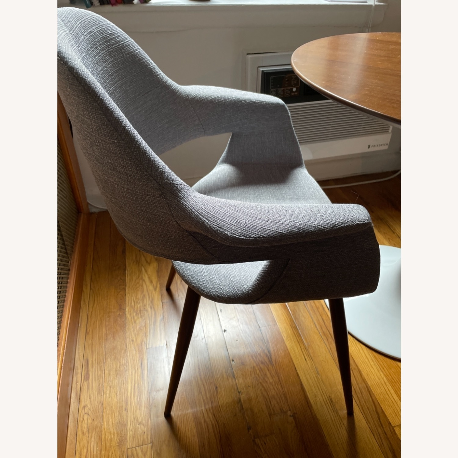 Grey Modern Dining Room Chair Set - image-3