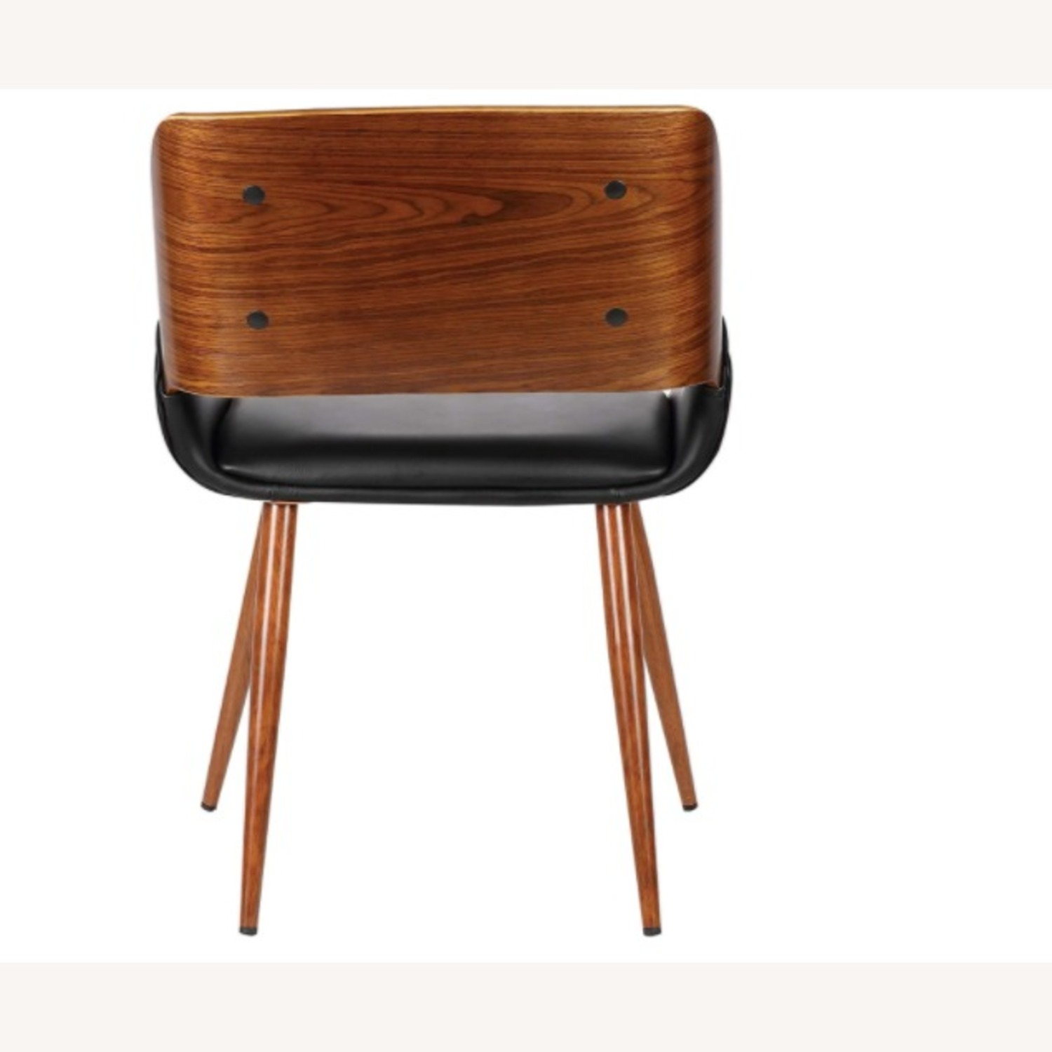 Mid Century Modern Faux Leather Dining Chair - image-3