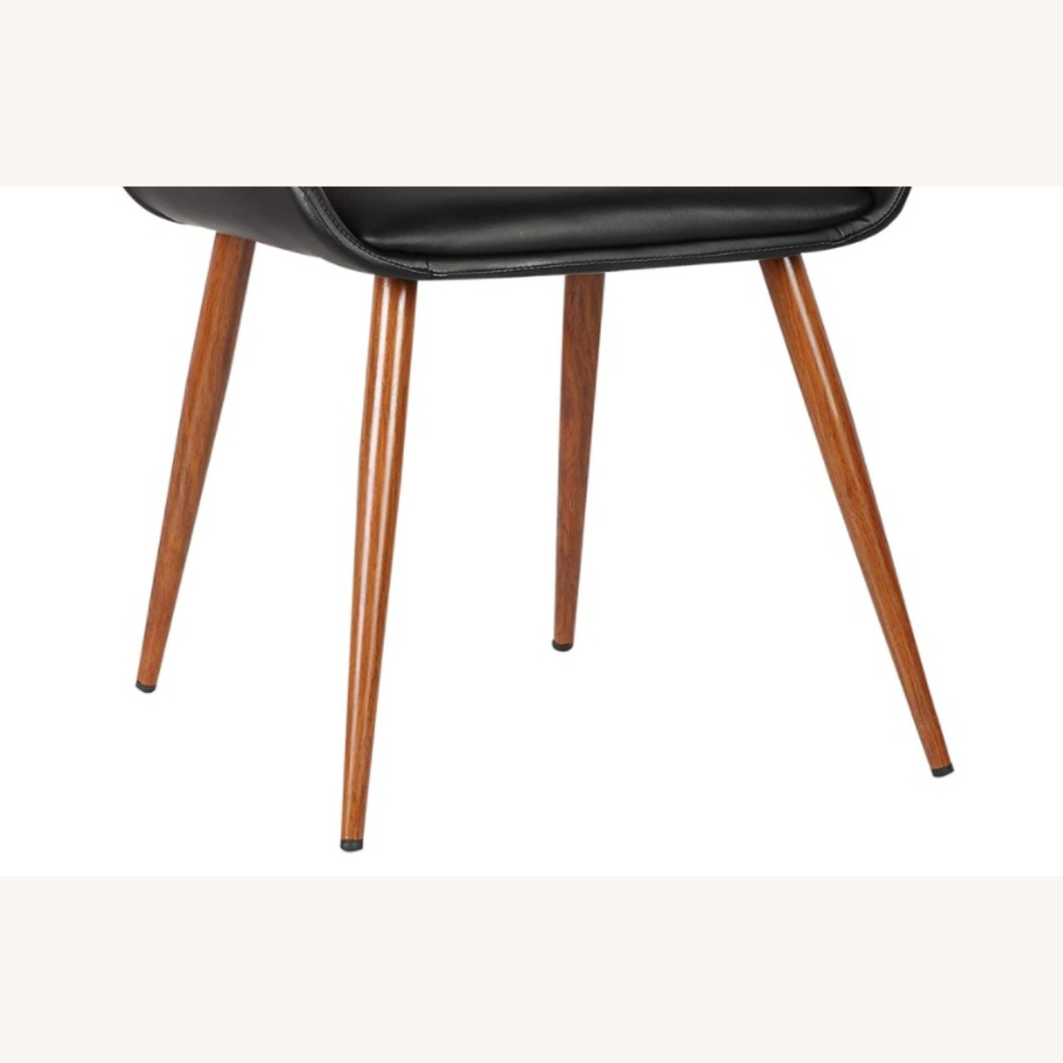 Mid Century Modern Faux Leather Dining Chair - image-4