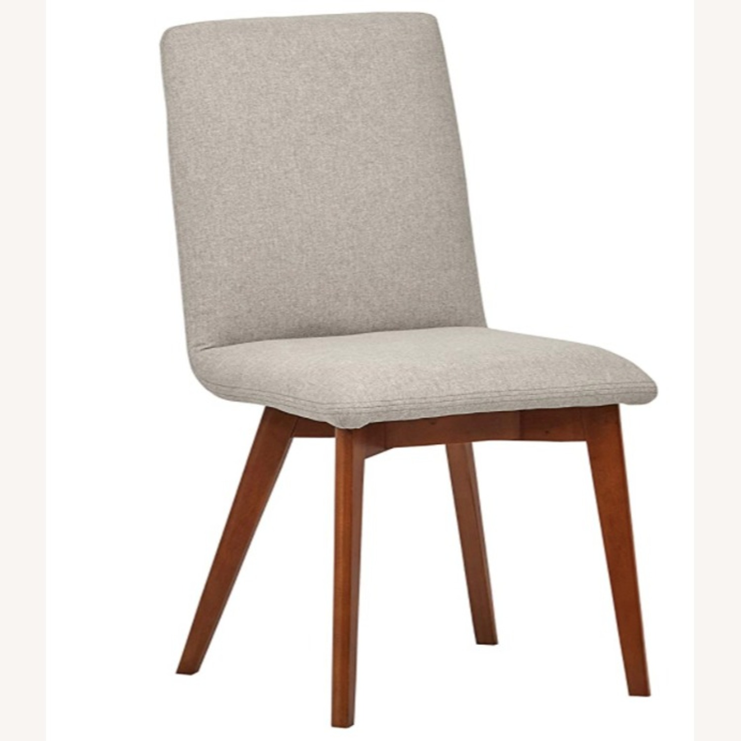 Mid Century Modern Grey Dining Chair Set of 2 - image-1