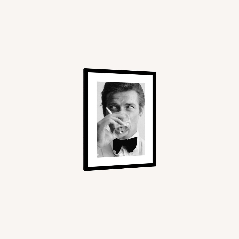 Limited Edition Roger Moore Framed Print - image-0