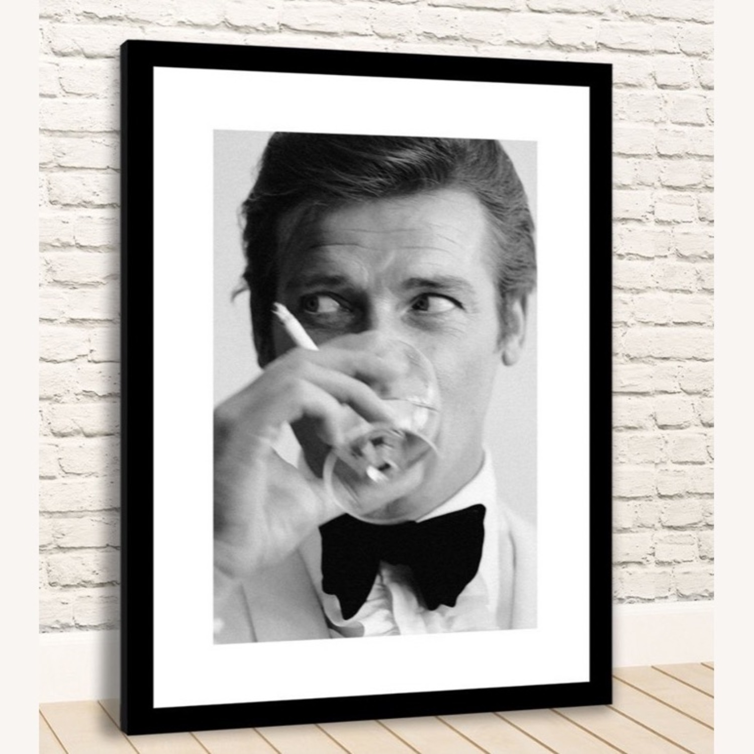 Limited Edition Roger Moore Framed Print - image-4