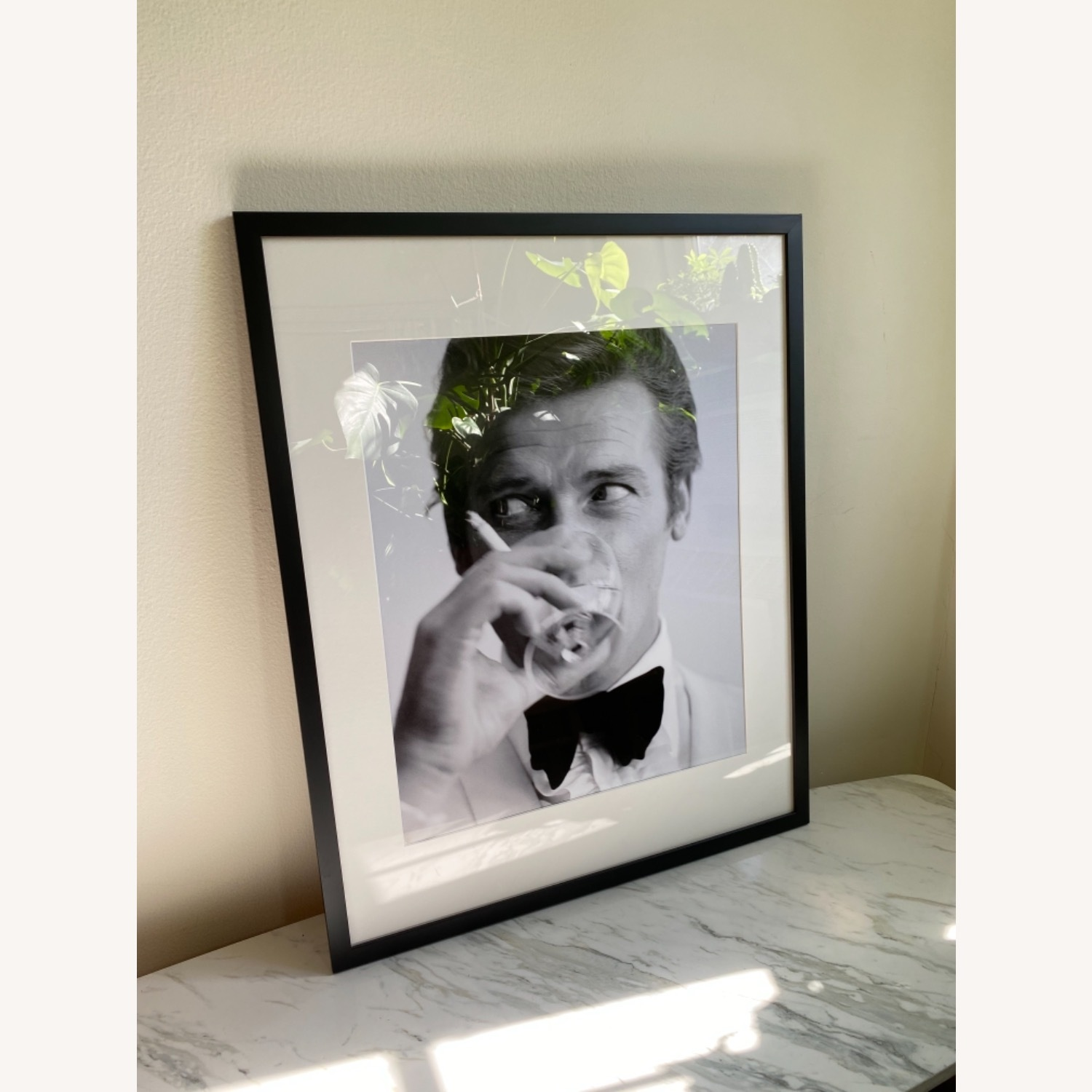 Limited Edition Roger Moore Framed Print - image-1