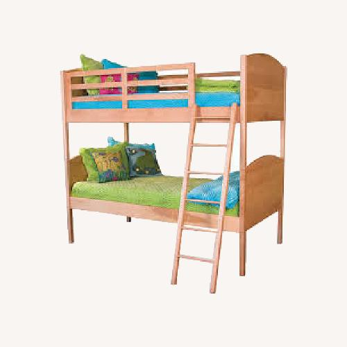 Used Pompanoosuc Mills Solid Bunk Bed for sale on AptDeco