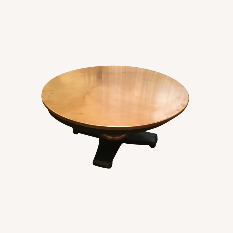 Crate Barrel Copper Top Coffee Table Aptdeco