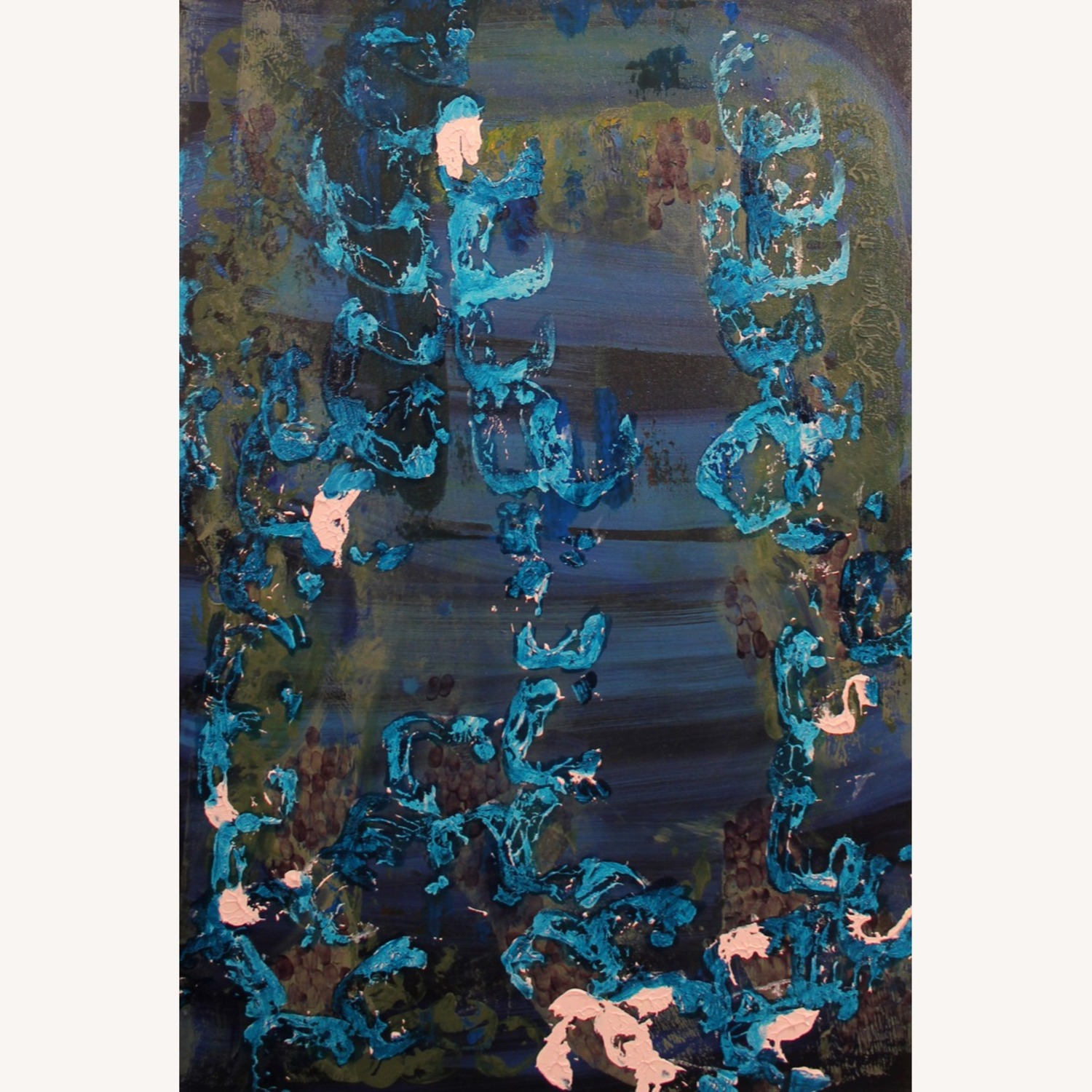 Abstract Canvas Painting - image-1