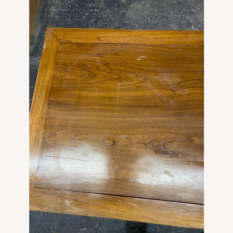 Handmade Custom Chinese Elm Wood Coffee Table - image-2