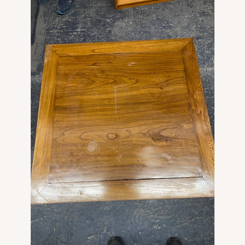 Handmade Custom Chinese Elm Wood Coffee Table - image-3