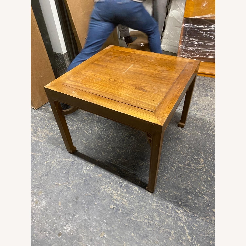 Handmade Custom Chinese Elm Wood Coffee Table - image-1
