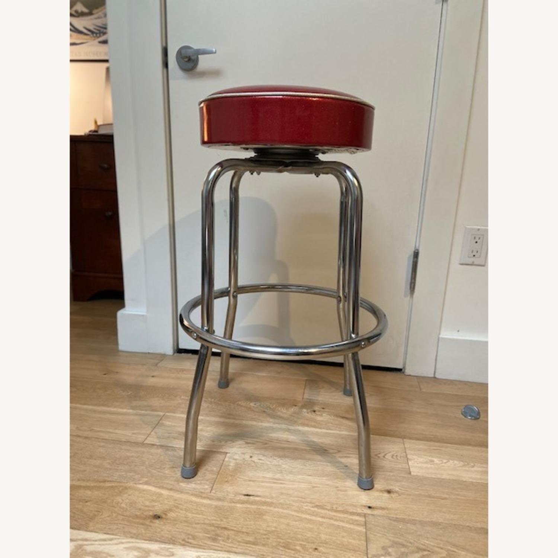 Richardson Seating Corp Retro Red Barstools - image-2