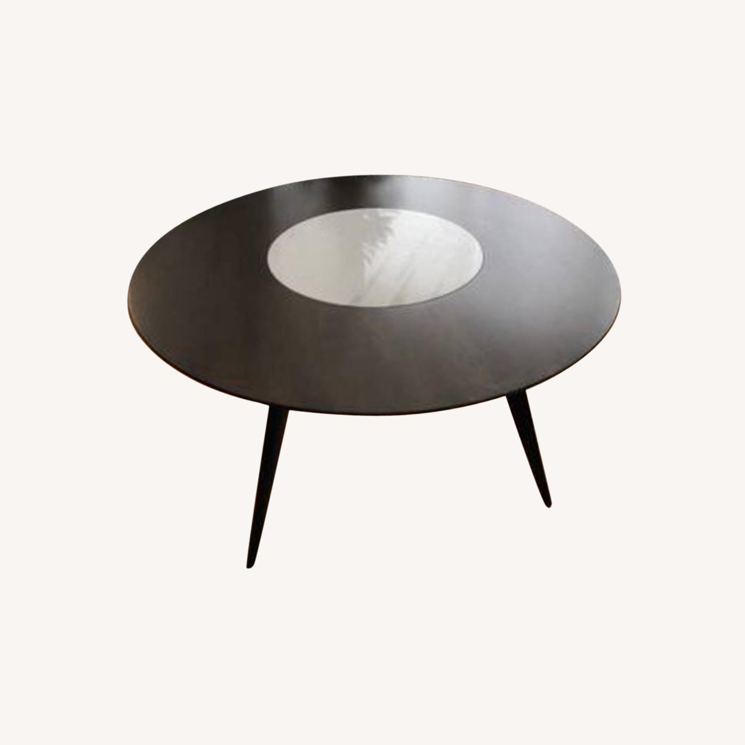 West Elm Turner Lazy Susan Dining Table - image-0