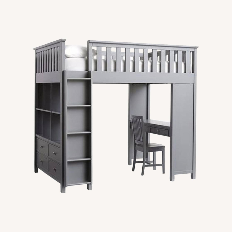 Pottery Barn Elliott Loft Bed & Desk System - image-0