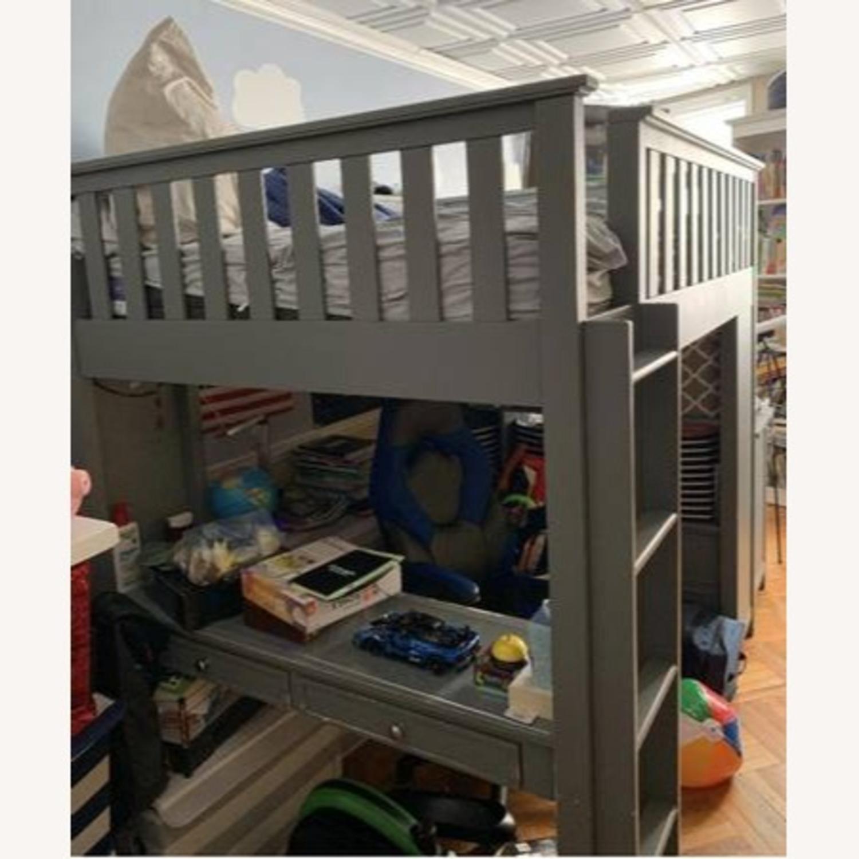 Pottery Barn Elliott Loft Bed & Desk System - image-3