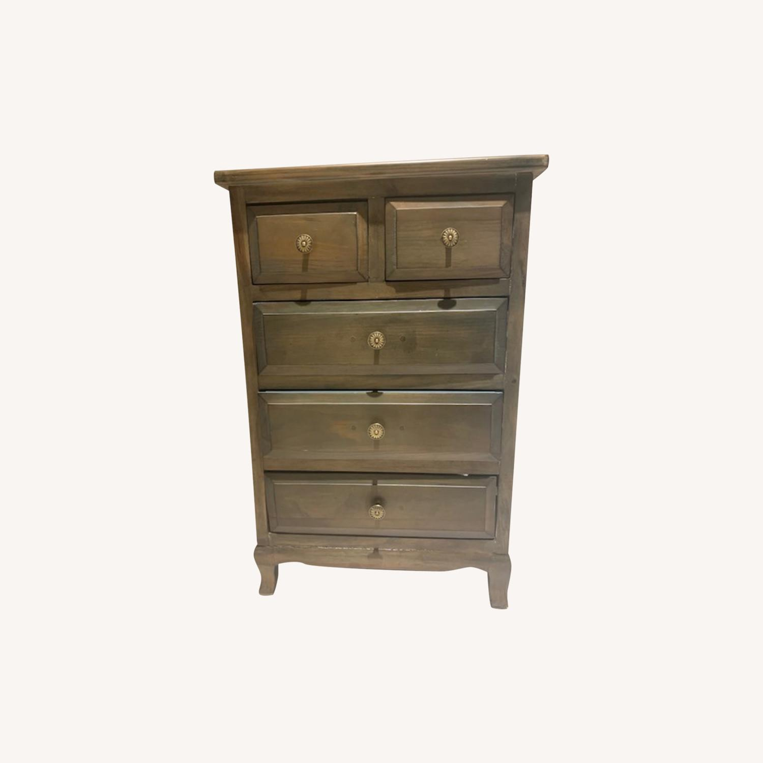 Side Table with Drawers - image-0