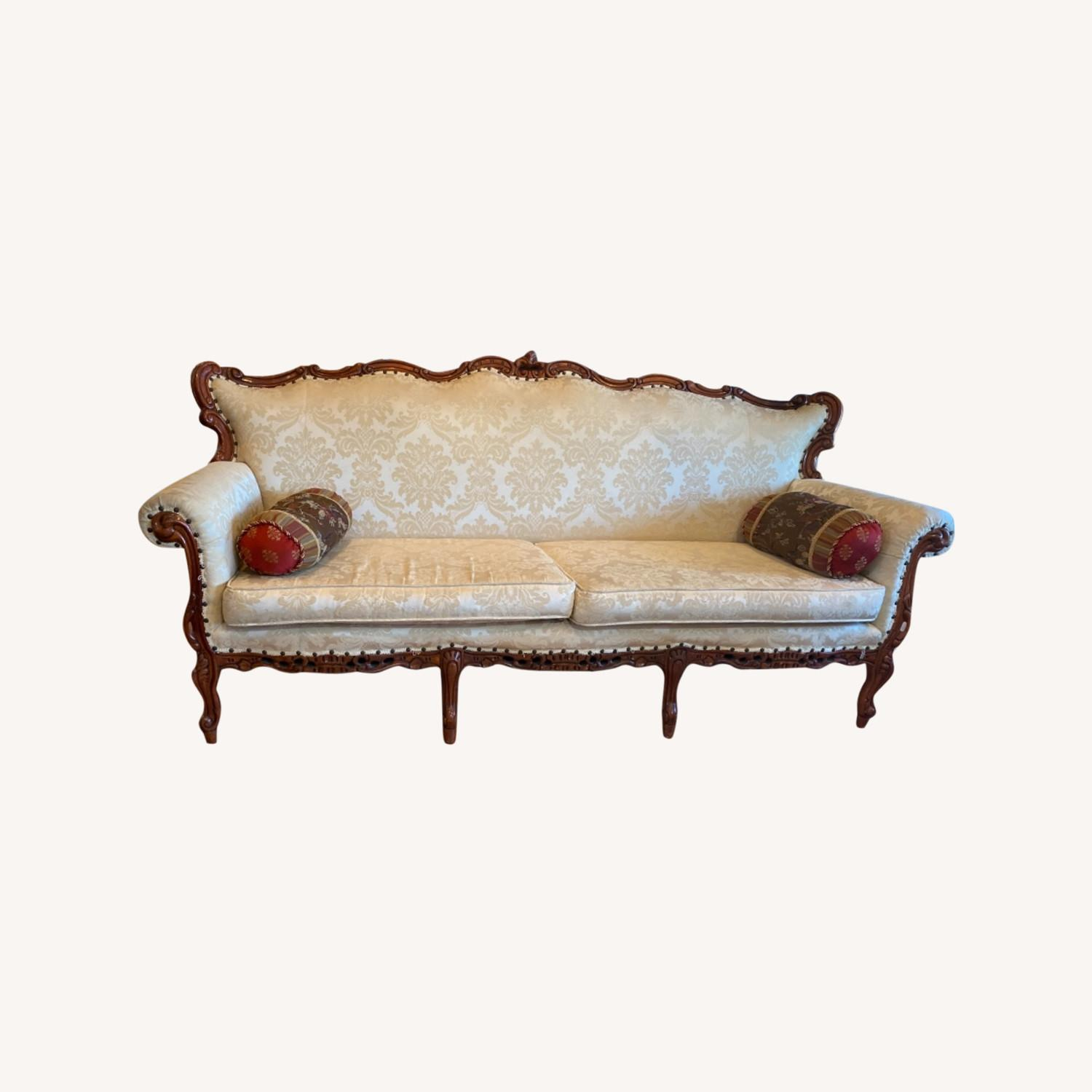 Antique Couch - image-0