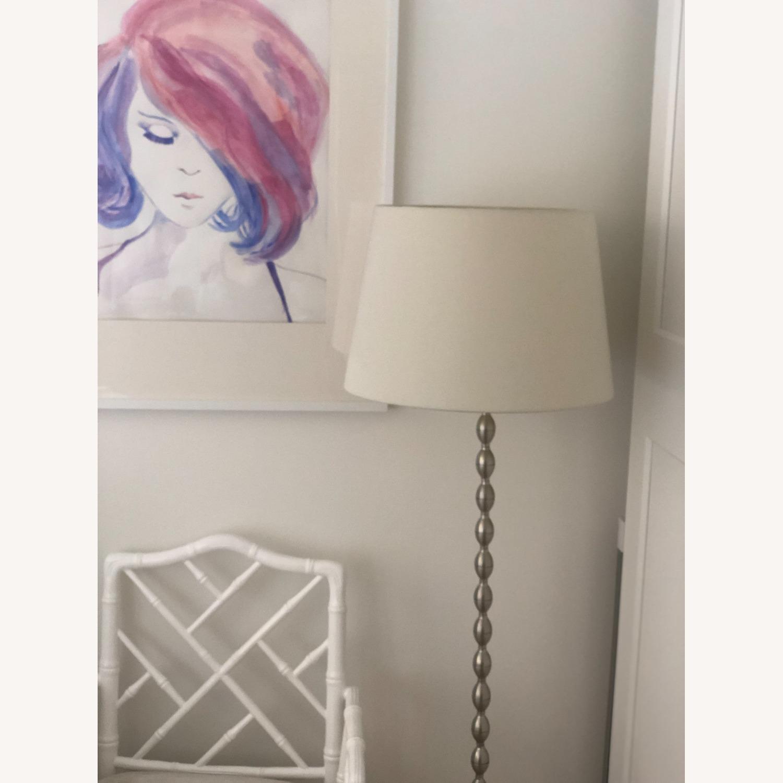 IKEA WHITE SHADE Metal Base Lamp - image-3