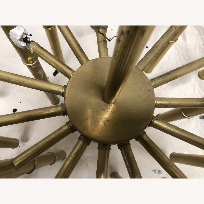 Jonathan Adler Meurice Chandelier in Brass - image-10