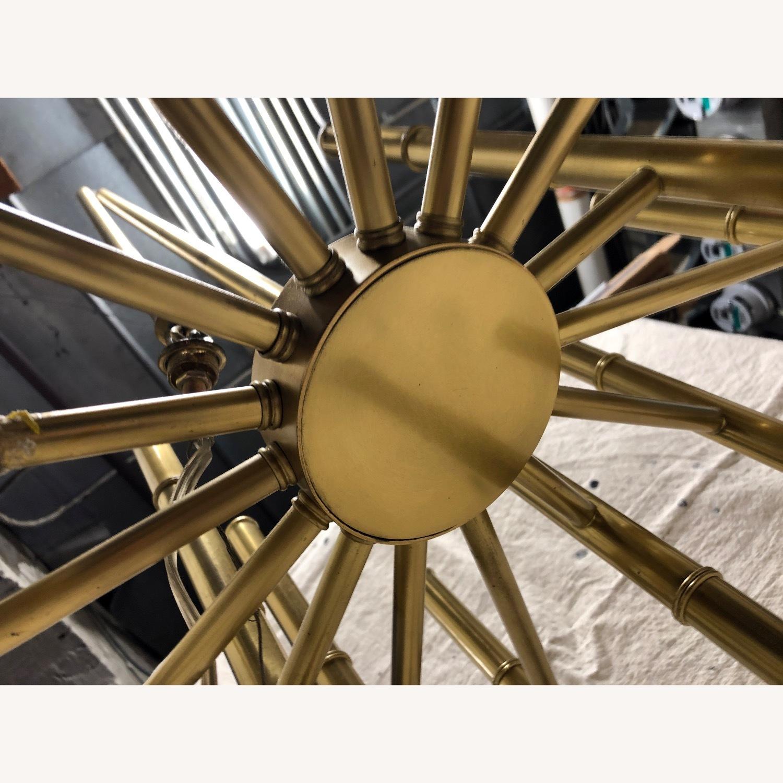 Jonathan Adler Meurice Chandelier in Brass - image-9
