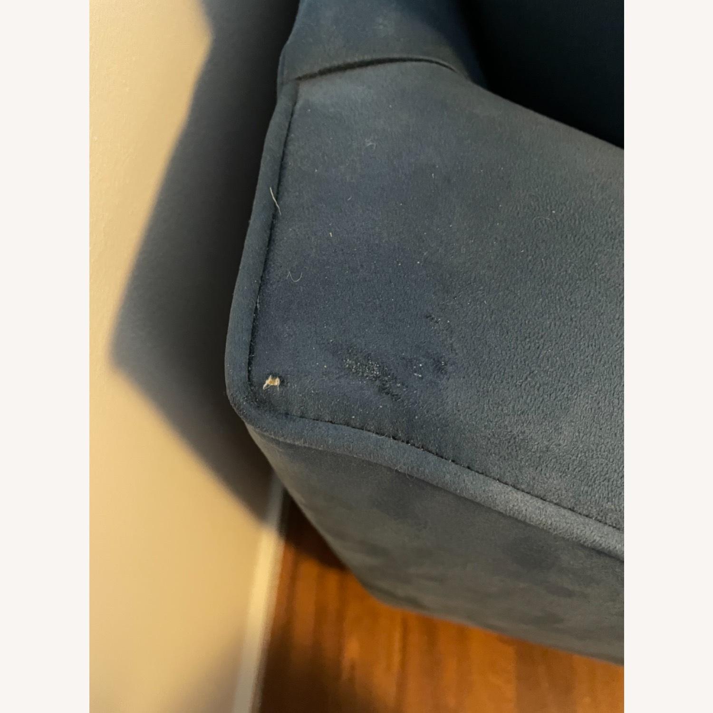 Raymour & Flanigan Queen Plus Microfiber Sleeper Sofa - image-6