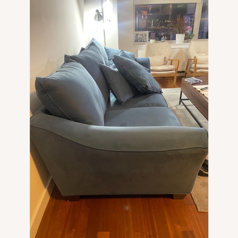 Raymour & Flanigan Queen Plus Microfiber Sleeper Sofa - image-5