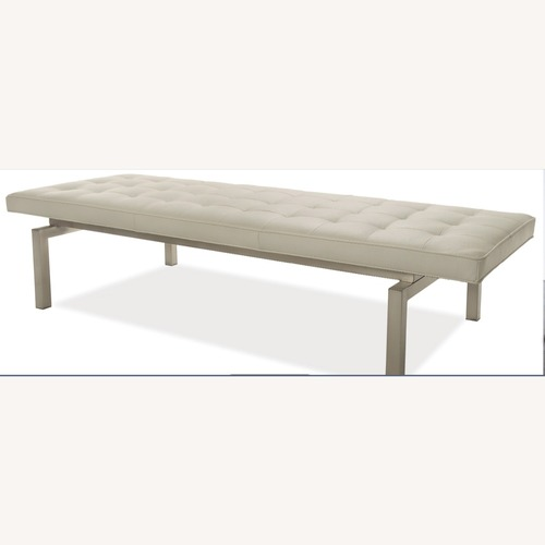 Used American Leather Rex Bench (Barcelona style) for sale on AptDeco