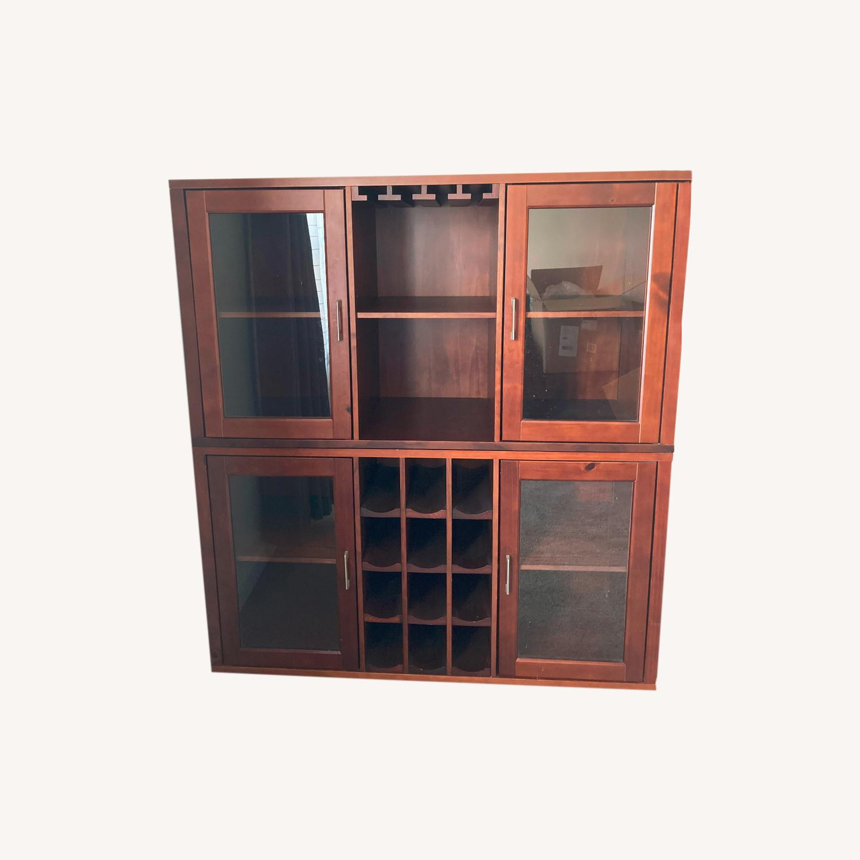 Wine Storage Wall Unit - image-0