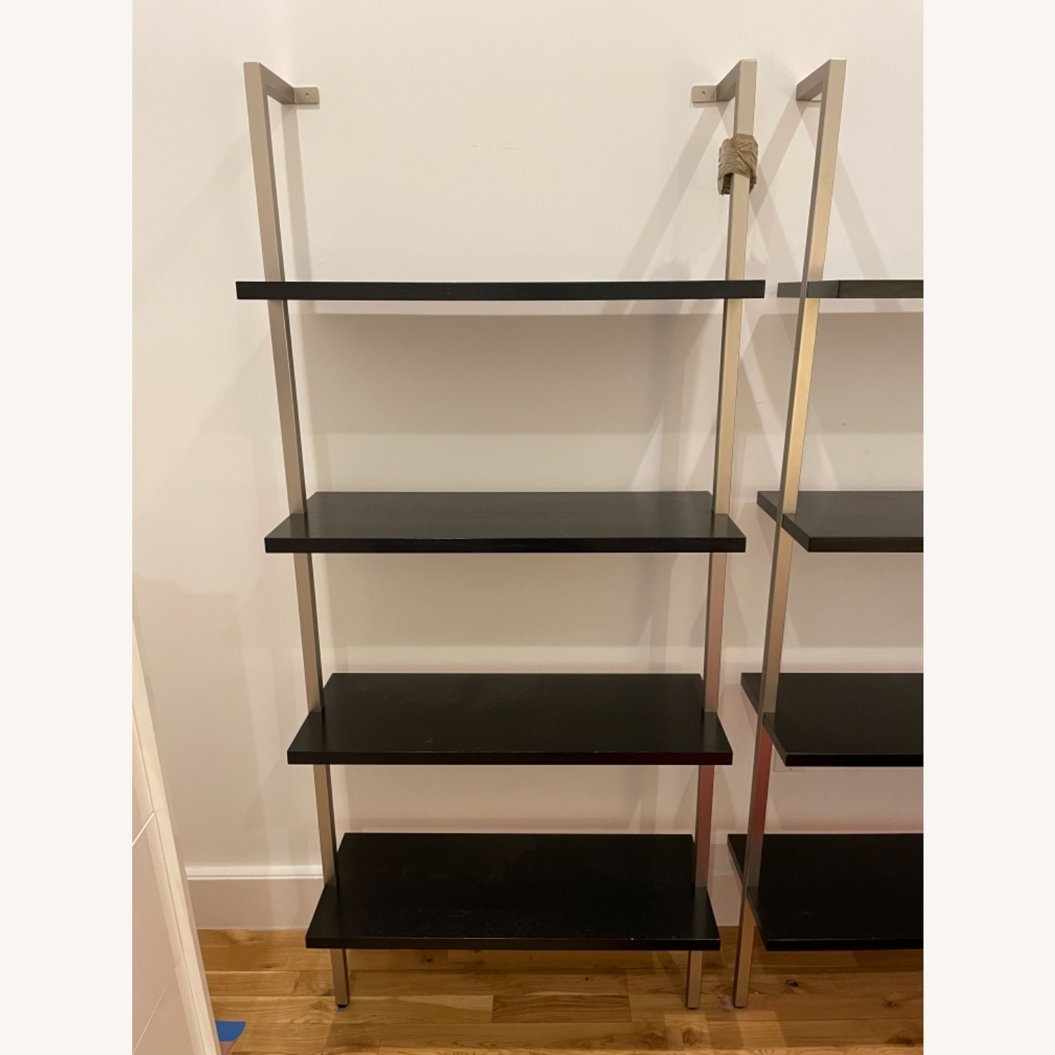 Stairway Style Desk and 2 Bookshelf Units - image-3